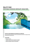 Zeeman - Model RA-915M / PYRO-915+ - Portable Mercury Analyzer - Brochure