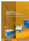 InfraLUM - Model FT-12 - FT-NIR Spectrometer - Brochure