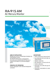 Lumex - Model RA-915AM - Air Mercury Monitor System - Brochure