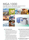 MGA-1000 Atomic Absorption Spectrometer - Brochure