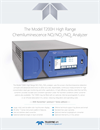 Teledyne - Model T200H - High Range Chemiluminescence NO/NO2/NOX Analyzer - Specification Sheet