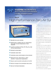 Model 701H - High Performance Zero Air System – Specification