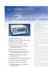 Model 100E - UV Fluorescence SO2 Analyzer – Specification