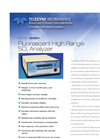 Model 100EH - Fluorescent High Range SO2 Analyzer – Specification