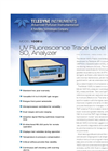 Model 100EU - UV Fluorescence Low Level SO2 Analyzer – Specification