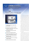 Model 108E - Total Sulfur Analyzer – Specification