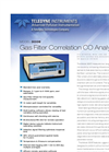 Model 300E - Gas Filter Correlation CO Analyzer – Specification