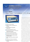 Model 360EM - Gas Filter Correlation CO2 Analyzer – Specification