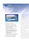 Model 803E - CO2–O2 Analyzer – Specification