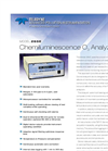 Model 265E - Chemiluminescence O3 Analyzer – Specification