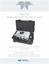 TAPI - Model 751H - Portable High Performance Zero Air System - Specification Sheet
