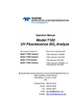 TAPI - Model T100 - UV Fluorescence SO2 Analyzer - Manual