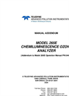 TAPI - Model 265E - Chemiluminescence O3 Analyzer - Manual