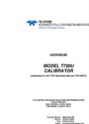 TAPI - Model T700U - Dynamic Dilution Calibrator - Manual