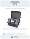TAPI - Model T750 - Portable Gas Calibrator - Specification Sheet