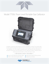 TAPI - Model T750U - Trace Level Portable Gas Calibrator - Specification Sheet