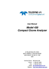 TAPI - Model 430 - Compact Ozone Monitor - Manual