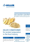 HILLER Conditioner for Food Applications