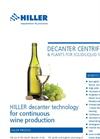Decanter Centrifuge for Wine production