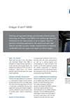 Dräger X-am - Model 5600 - Multi Gas Detection Devices- Brochure
