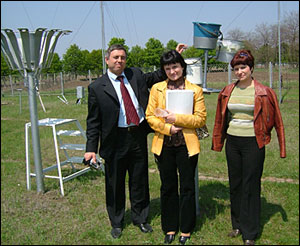 NILU establishes air quality monitoring stations in Eastern Europe and Central Asia