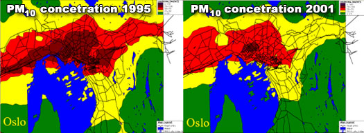 Better air quality in Oslo