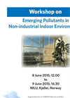Workshop on Emerging Pollutants in Non-industrial Indoor Environments - Brochure