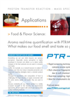 Food and Flavor Science Application Brochure