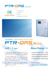 High-Sensitivity PTR-QMS 500 product factsheet