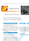 PTR-MS Applications: Bioprocess Fermentation Monitoring