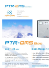 PTR-QMS 500 Ultra Sensitive Online VOC Detector - Limit of Detection < 30 pptv Brochure