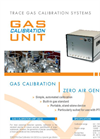 IONICON Gas Calibration Unit (GCU) Advanced Dynamic Gas Dilution System Brochure