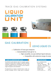 IONICON Liquid Calibration Unit (LCU) - Versatile Trace Gas Calibration by Evaporation of Liquid Calibration Standards Brochure