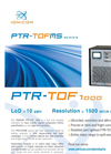 IONICON - Model PTR-TOF 1000 - Compact Ultra-Fast PTR-TOFMS Trace Gas Analyzer - Brochure