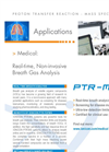 PTR-MS Applications: Medical Breath Analysis