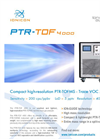 Ionicon - Model PTR-TOF 4000 - Trace VOC Analyzer- Factsheet