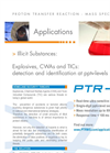 Illicit Substances Detection with PTR-MS Application Brochure