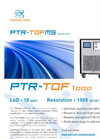 IONICON - Model PTR-TOF 1000 - Compact Trace Gas Analyzer - Brochure