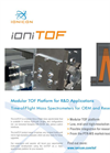 IONICON ioniTOF X000 Time-of-Flight Mass Spectrometer Platform for Research & OEM - Brochure