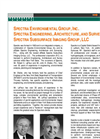 Spectra Environmental Group, Inc. Corporate Overview Brochure