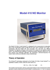 Model 410 Nitric Oxide Monitor<sup>™</sup> Brochure (PDF 140 KB)