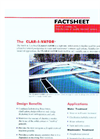 CLAR-I-VATOR - Water and Wastewater Treatment Applications – Brochure