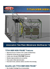 TITAN MBR MEM-FRAME - Wastewater Treatment Systems Brochure