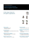 Electromagnetic Flowmeter HygienicMaster 300 Data Sheet