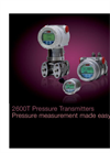 Absolute Pressure Transmitters - 266ASH Brochure