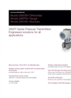 Differential Pressure Transmitters - 266DSH Data Sheet