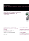 Differential Pressure Transmitters - 266MSH Data Sheet