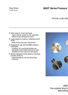 Pressure Measurement Remote Seals - S261 Data Sheet