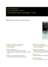 ControlMaster Universal Controllers - CM10 Data Sheet