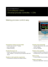 ControlMaster Universal Controllers - CM30 Data Sheet